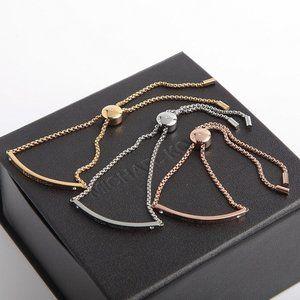 Michael Kors Simple Adjustable Glossy Bracelet